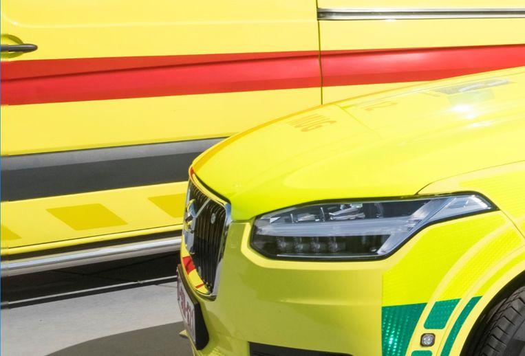 Een ambulance en een MUG werden ter plaatse geroepen om de toestand van de man te controleren.