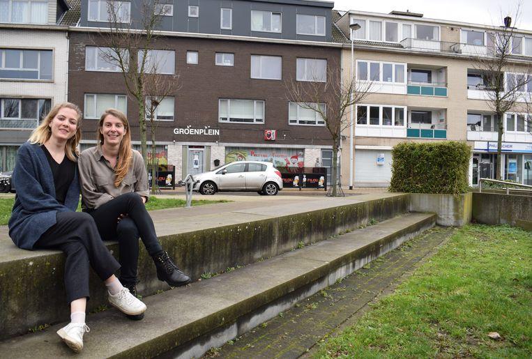 Ella en Joke willen de leefbaarheid van Debbautshoek en het Groenplein het komende anderhalf jaar serieus opkrikken.