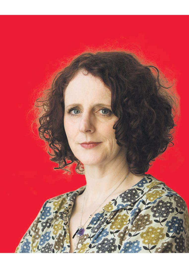 Maggie O'Farrell, de 47-jarige auteur werd geboren in Noord-Ierland en groeide op in Wales en Schotland. Beeld -