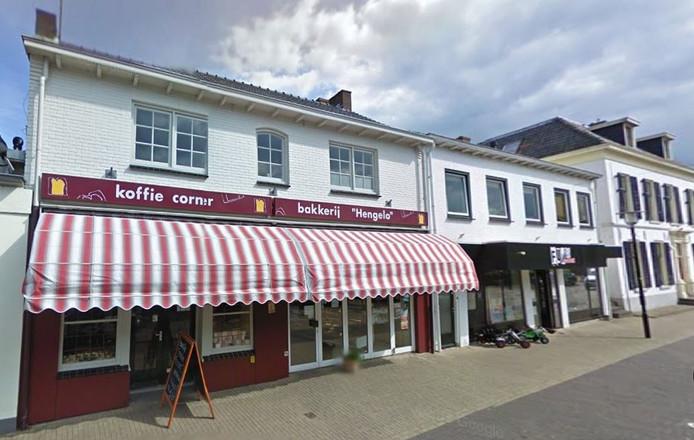 Het pand van Bakkerij Hengelo in de Spalstraat.