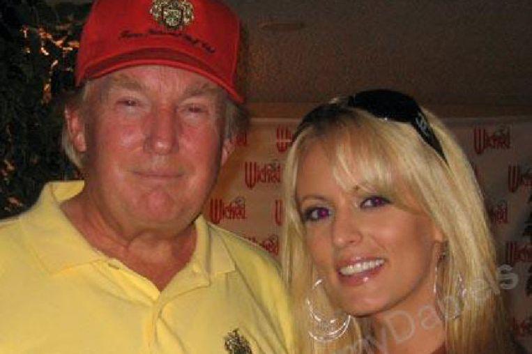 Trump met ex-pornoster Stormy Daniels