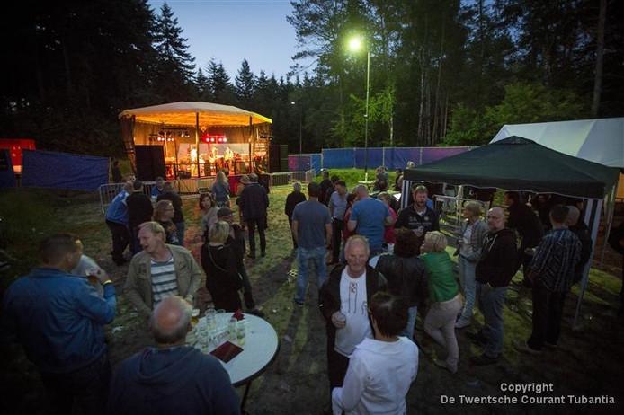 Beeld van eerste Forest Hill festival in 2015
