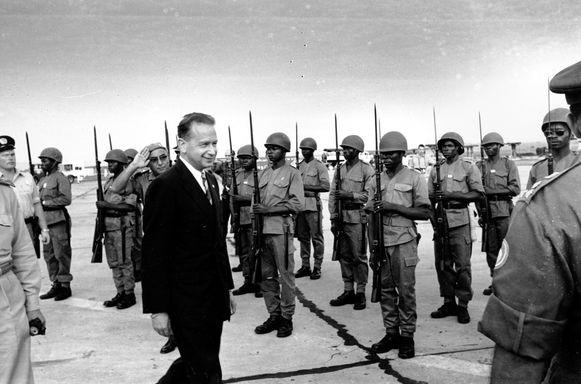 Dag Hammarskjold zou naar Zambia vliegen om er te onderhandelen over een staakt-het-vuren met onafhankelijkheidsleider, Moïse Tshombe. Maar de secretaris-generaal kwam nooit op zijn bestemming aan.