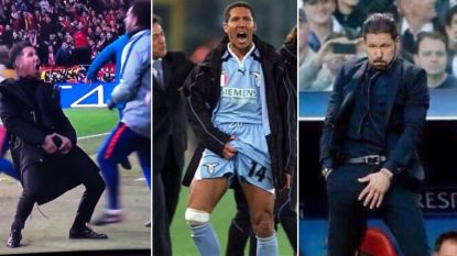 Diego Simeone excuseert zich, al was het niet eerste keer dat hij zo wou laten zien dat zijn team 'ballen' heeft