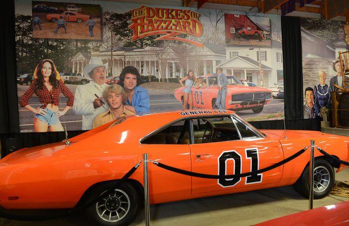 De Dodge Charger uit 1969 in het Volo Auto Museum