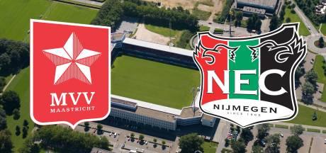 LIVE | NEC-speler Flemming keert terug in de basis tegen MVV