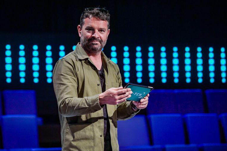 Adriaan Van den Hoof, presentator van Switch.