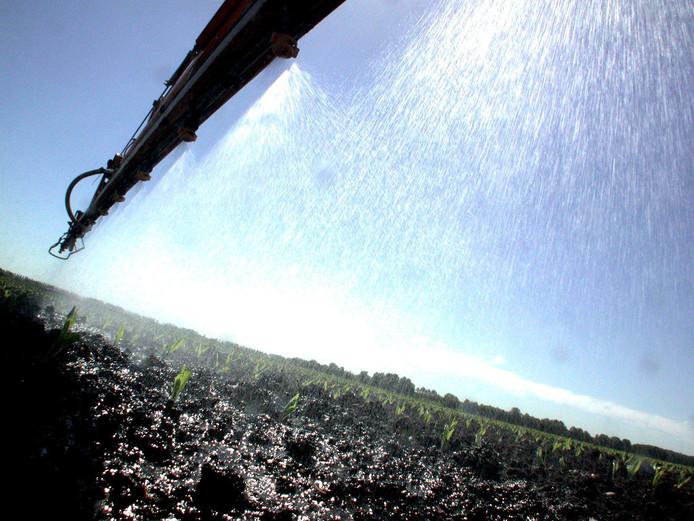 Vanaf 2003 moesten tuinders een toeslag betalen voor het gebruik van chemische bestrijdingsmiddelen.