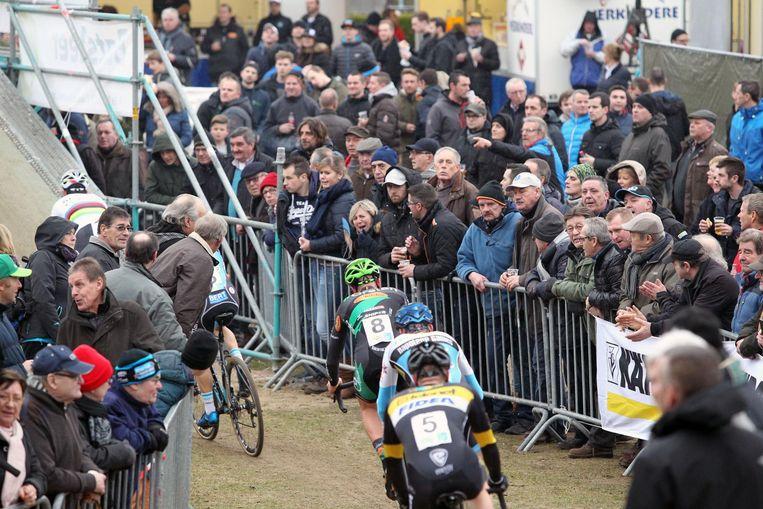 In 2017 stond het publiek alvast rijendik op de Parkcross in Maldegem.