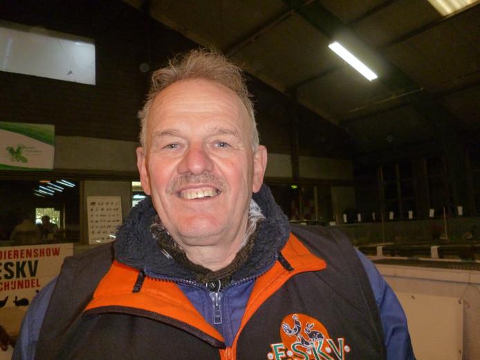 Enri Vermeulen, voorzitter van ESKV in Schijndel.