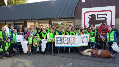 Meer dan 40 vrijwilligers maken Geetbets zwerfvuilvrij