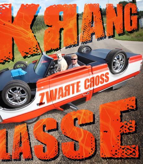 Racende rollators en auto's op de kop over crossbaan Zwarte Cross