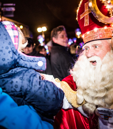 Uitzwaaien Sint in 'Madriel' geeft kinderen en ouders rust
