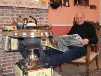 """Willy (68) bouwt tuinhuis om tot retrohuisje uit de sixties: """"Lockdown deed mij mijmeren over mijn jeugdjaren"""""""