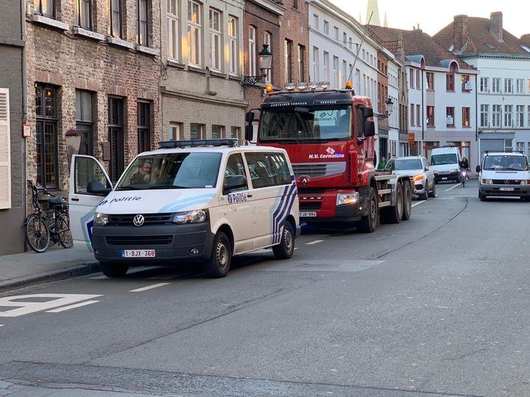 Het ongeval gebeurde in de Gentpoortstraat
