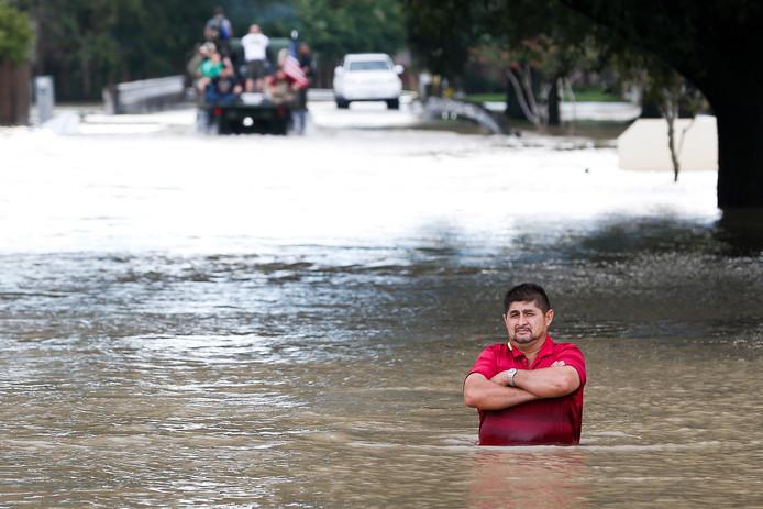 Harvey trok de afgelopen week over Houston en veroorzaakte hevige overstromingen.