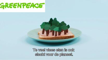 """""""Respectloos"""": Greenpeace schopt Studio 100 opnieuw tegen de schenen met filmpje over boterhamworst"""