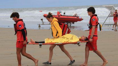 Grootschalige reddingsoefening aan surfclub De Kwinte
