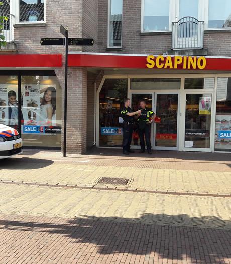 Passantenonderzoek politie naar aanleiding van overval Scapino