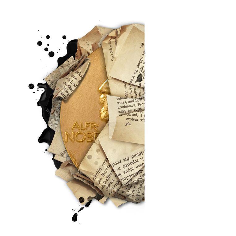 Nobelprijs Literatuur.  Beeld JeRoen Murré