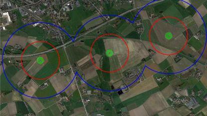 Locatie van geplande windmolens in Pittem (licht) gewijzigd