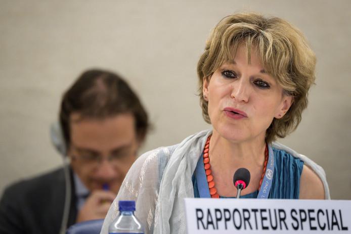 VN-rapporteur Agnes Callamard vindt het onbegrijpelijk dat Máxima de moord op Khashoggi niet aan de orde heeft gebracht in haar gesprek met de Saoedische prins.