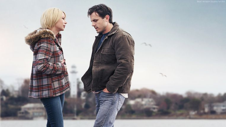 Michelle Williams en Casey Affleck in Manchester by the Sea van Kenneth Lonergan (2016). Beeld