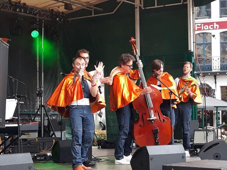 Von Kapp met Dimitrie Leue  op de Speeldag in Mechelen.