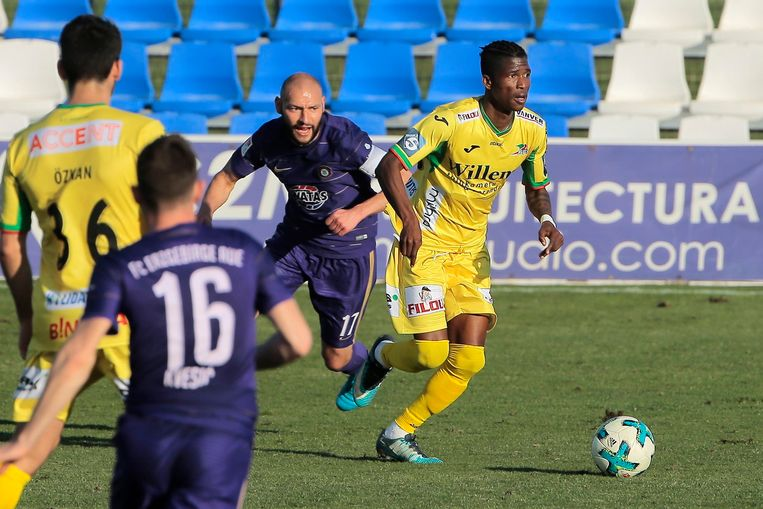 Ibrahima Conte is een van de spelers die moet opkrassen bij KVO.