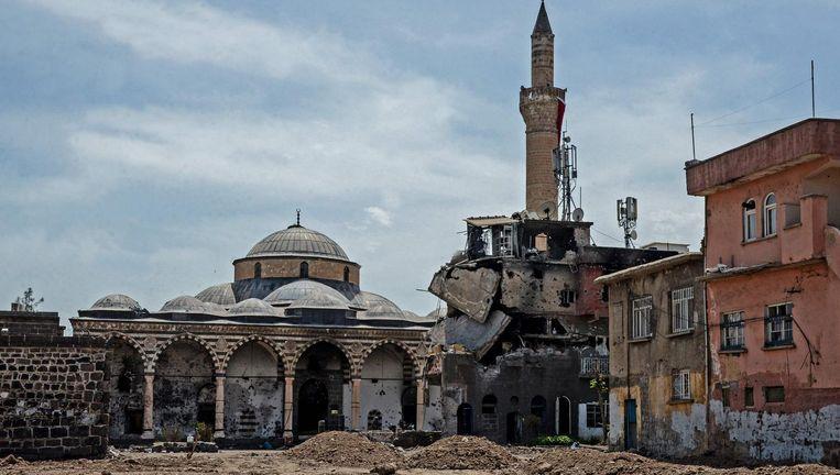 'Diyarbakir begint steeds meer te lijken op Aleppo.' Beeld afp