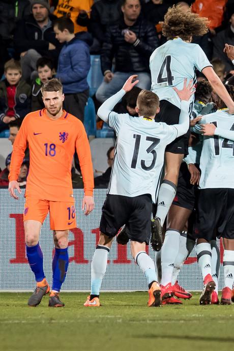 Pijnlijke nederlaag Jong Oranje tegen België