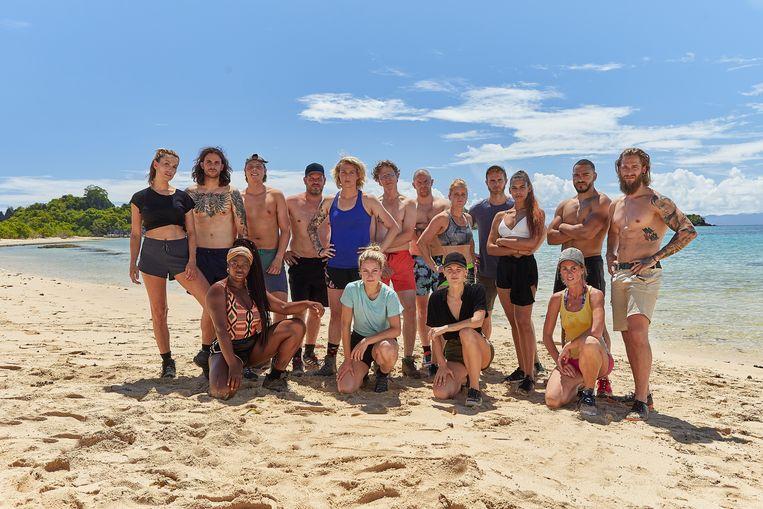 De deelnemers aan 'Expeditie Robinson' komen dit seizoen uit Vlaanderen en Nederland.