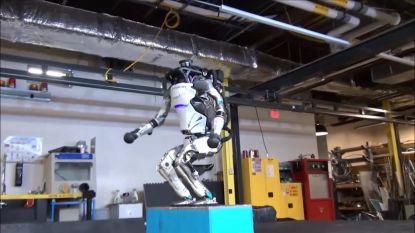 Deze robot kan waarschijnlijk beter turnen dan jij