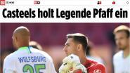 """Casteels evenaart 'Legende Pfaff' in Bundesliga: """"Hij heeft gezegd dat ik het verdien"""""""