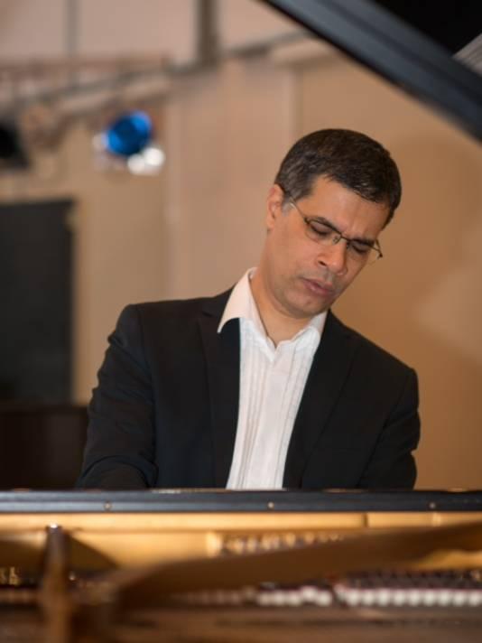 Concertpianist Roderigo Robles de Medina.