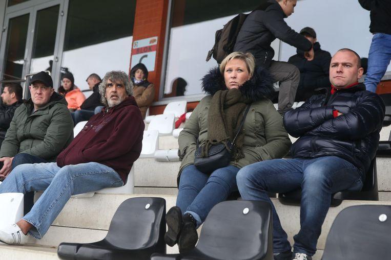 Open training voor supporters KAA Gent.