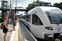De Maaslijn bij station Heijendaal in Nijmegen.