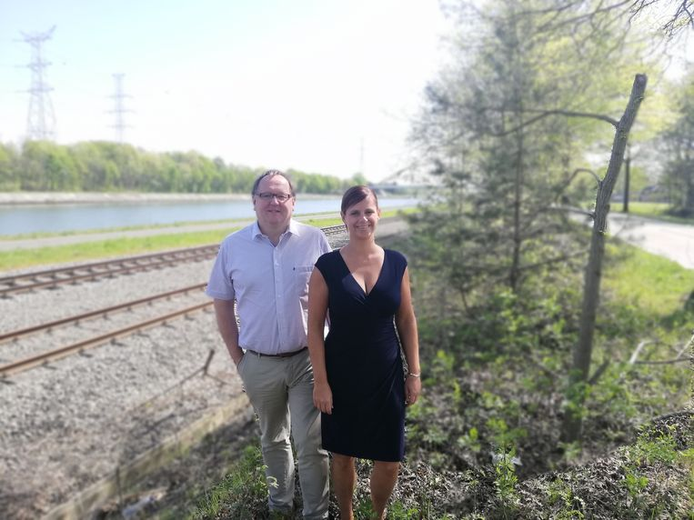 Frank Wilrycx en Marianne Verhaert.