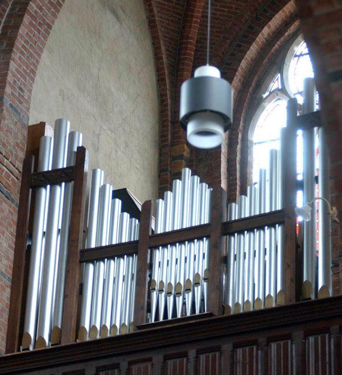 Het orgel van de Cuyperskerk in Sas van Gent