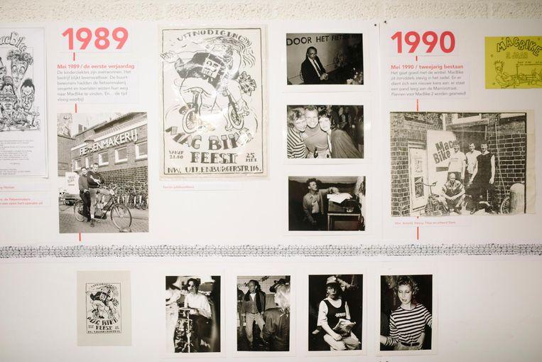 Macbike bestaat 30 jaar en naar aanleiding van dat jubileum is er een foto-expositie van MacBike Beeld Marc Driessen