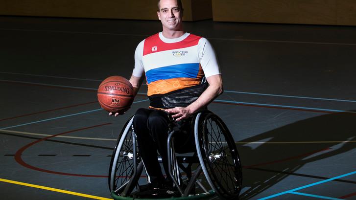 Basketbal brengt rust in het hoofd bij Jelle van der Steen uit Deurne