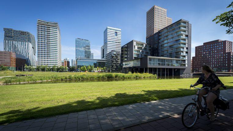 De Amsterdamse Zuidas. Beeld anp