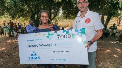 Belangrijke rol voor Rotary op missie in Oeganda