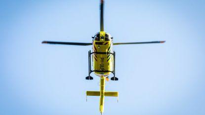 Veel te hoog vliegende drone botst bijna met traumahelikopter