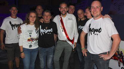 Campagnebal van Bart De Meyst was 'white party'