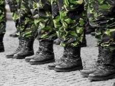 Militaire oefenen in centrum Middelburg