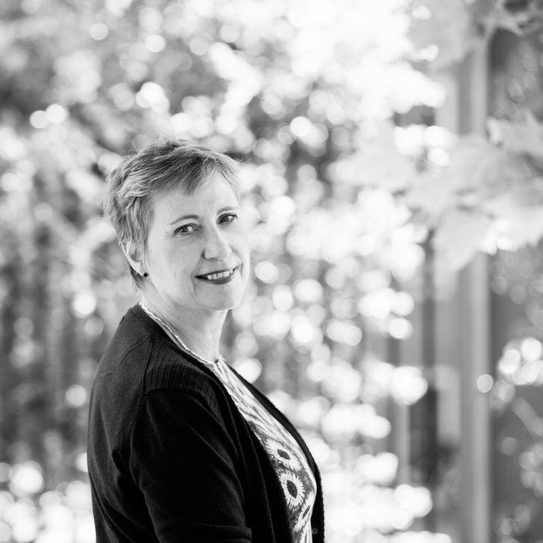 Julia van Rijn is predikant en secretaris van de Protestantse Kerk Amsterdam. Beeld -