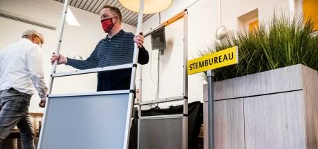 Veilig stemmen op Park Stanislaus: 'Wel jammer dat we het potlood niet mee mogen nemen'