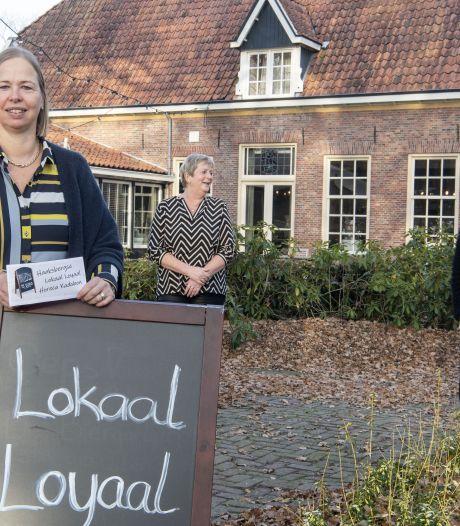 Thuis 'uit eten' met de loyaal-cheque van Hoksebarge Preuft