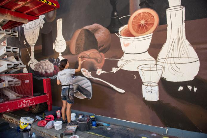 De Blind Walls Gallery is één van de projecten die onder druk is komen te staan als gevolg van het beknibbelen op subsidie